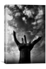 Reach for the Sky, Canvas Print