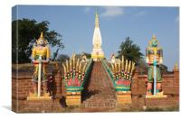 Phra That Satja, Canvas Print