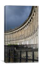 Bath Royal Crescent, Canvas Print