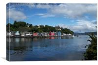 Tobermory, Isle of Mull, Canvas Print
