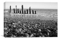 Winchelsea beach, East Sussex, Canvas Print