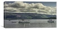 Cruising Loch Lomond, Canvas Print