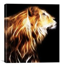 Lion, Canvas Print