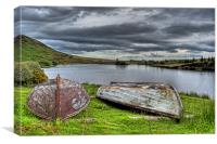Glenburn fishery, Canvas Print