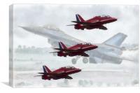 Airshow, Canvas Print