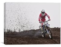 Motocross, Canvas Print