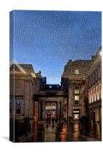 Royal Exchange Square, Canvas Print