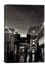 Glasgow Royal Exchange Square, Canvas Print