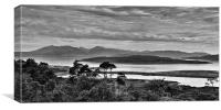Black & White Landscape, Canvas Print