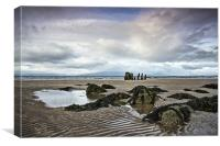 Ayrshire Coast, Canvas Print