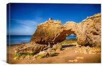 Gateway to the Algarve, Canvas Print