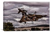Typhoon, Canvas Print