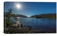 Lomond View, Canvas Print