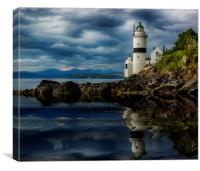 The Cloch, Canvas Print