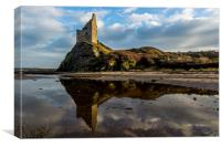 Greenan Castle, Canvas Print
