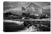 Paisley Mill, Canvas Print