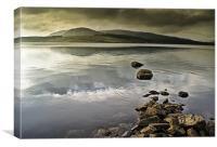 Loch, Canvas Print