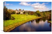 Inveraray Castle, Canvas Print