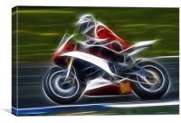 Motorbike, Canvas Print