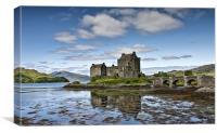 Eilean Donan Castle (2), Canvas Print
