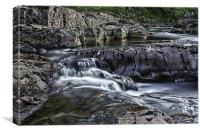 Monessie Falls, Canvas Print