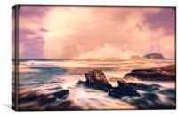 fantasy atmospheric seascape, Canvas Print