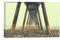 Under The Pier, Canvas Print