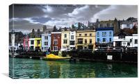 Weymouth Marina, Canvas Print