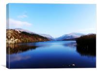 Snowdonia Lake, Canvas Print