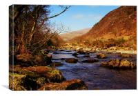 Snowdonia  River 2, Canvas Print