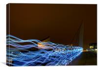 Speed of Light, Canvas Print