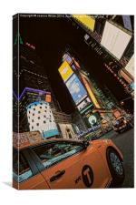 Times Square, NYC, Canvas Print
