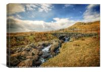 Up in the Lakes, Canvas Print