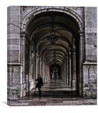 Lisbon Arches, Canvas Print