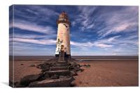 Talacre Lighthouse 1, Canvas Print