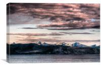 Nordfjord, Norway, Canvas Print