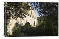 Pont Du Gard 02, Canvas Print