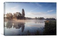 River Thames at Mapledurham, Canvas Print