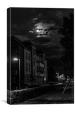 Moonlight after Storm, Canvas Print