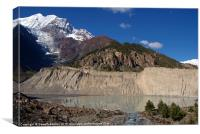 Gangapurna Lake Manang, Canvas Print