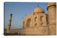 Taj Mahal inPerspective, Canvas Print