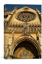 Arundel Cathedral Entrance, Canvas Print