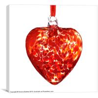 Heart of Glass, Canvas Print