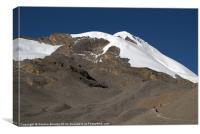 Approaching Thorung La, Annapurna Circuit, Nepal H, Canvas Print