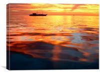 Sublime Boracay Sunset, Canvas Print