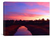 Broome Sunset, Western Australia, Australia, Canvas Print