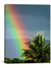 At the End of the Rainbow, Canvas Print