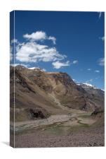 Scenery in the Spiti Valley, Canvas Print