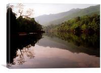The River Kwai, Canvas Print