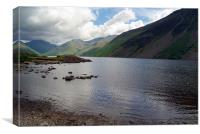 Across Wastwater, Canvas Print